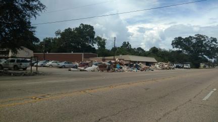 Louisiana flood clean up 2